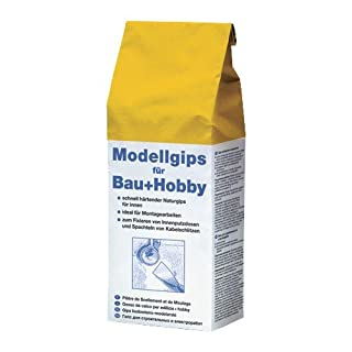 Pufas Modellgips für Bau+Hobby 1,500 KG