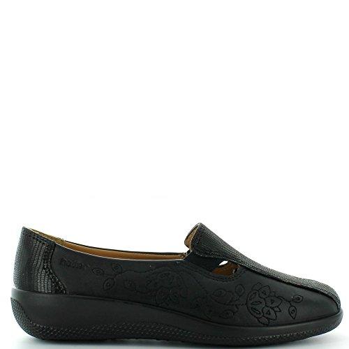 Hotter Rimini, Chaussures Bateau Femme Brown (Truffle Multi)