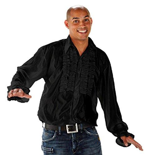 Preisvergleich Produktbild Folat 21961 - Disco Shirt,  XL / XXL,  schwarz