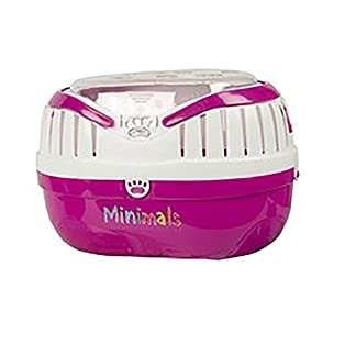 Pet Brands Small Rodent Mini Pet Carrier 41Yis9k3yDL