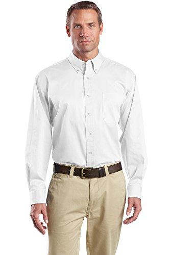 Cornerstone - Maglia a Manica Lunga - Vestito Modellante - Uomo Bianco - bianco