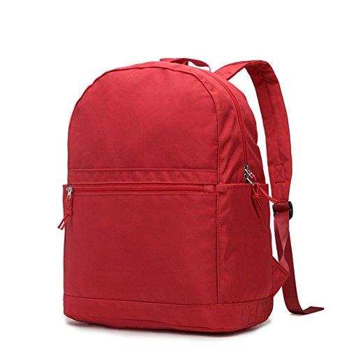 Semplice zaino/borsa per uomini e donne/Zaino stile College/Borsa da viaggio-A A