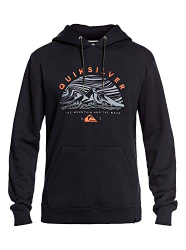 Quiksilver Big Logo Snow - Technical Hoodie for Men - Männer (Quiksilver-logos)