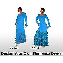 ¡Diseña tu Vestido Flamenco a tu gusto! De manga larga. Todos los colores