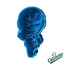 Cute Iron Man superhero cookie cutter
