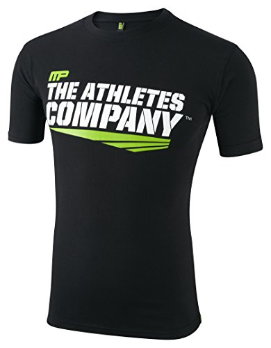 Muscle Pharm Herren Textilbekleidung Printed TSHT, Black, XL, MPTS408 (Graphic Tee Muscle)