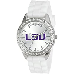 """Game Time Damen COL-FRO-LSU """"Frost"""" Armbanduhr - Louisiana State"""