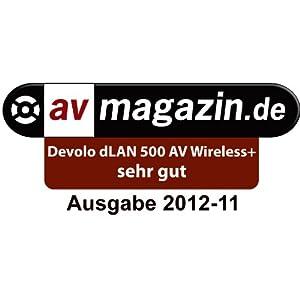 devolo dlan 500 av wireless starter kit powerline computer zubeh r. Black Bedroom Furniture Sets. Home Design Ideas