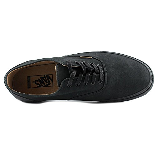 Vans Era Deacon CA Cuir Chaussure de Basket (Mono Leather) Black-Rubber