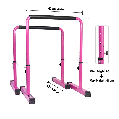 Zoom IMG-2 power guidance dip bar stand