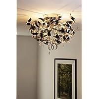 Eco Licht - Lámpara de techo de diseño moderno, con espirales y colgaduras
