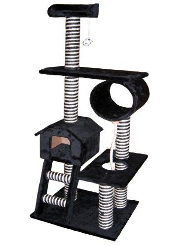 Go Pet Club Katze Baum Möbel, 26x 49x 152,4cm (Scratcher Pet-möbel Condo)