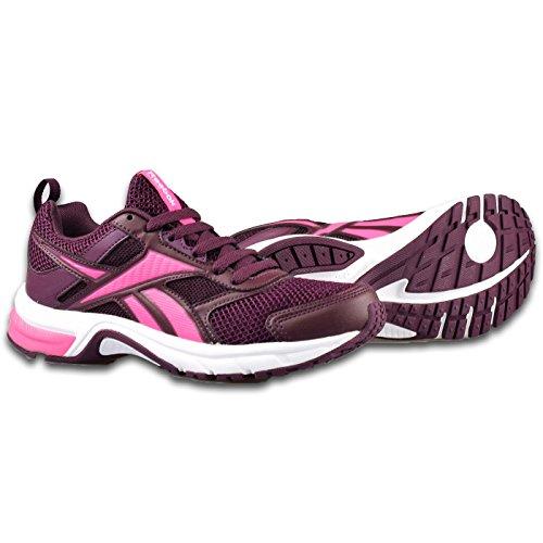 Reebok Pheehan Run 4.0, Chaussures de Running Entrainement Femme Violet - Morado (Mystic Maroon / Poison Pink / White)
