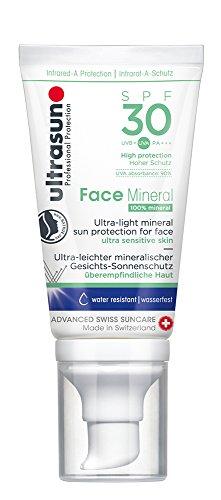 Spf 40 Sonnenschutz Creme (Ultrasun Face Mineral SPF30 Gesichts-Sonnenschutz. 1er Pack (1 x 40 ml))