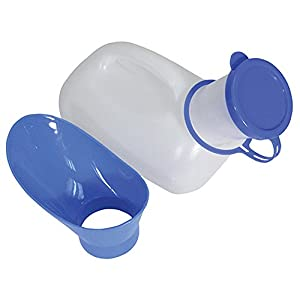 Aidapt VR268AA Tragbares Unisex Urinal für Frauen/Männer