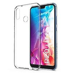Utection Huawei P20 Lite Hülle Silikon Transparent - Robust - Leicht - Passgenau - Silikonhülle Für Ultimativen Schutz - Dünne Schutzhülle P20 Lite Handyhülle Durchsichtig