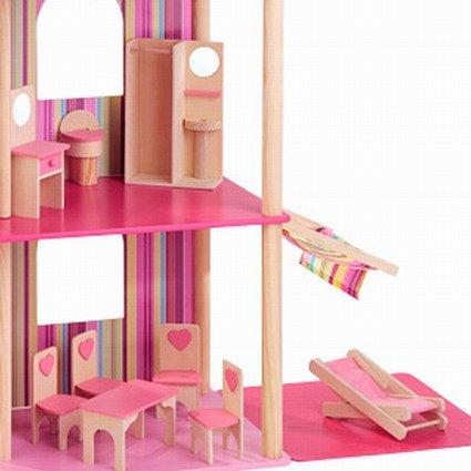 riesige Traumvilla für Ankleidepuppen incl. 22 Möbeln von howa 70102 - 3