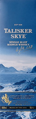 - 41Yj3f1rP2L - Talisker Skye Single Malt Scotch Whisky (1 x 0.7 l)