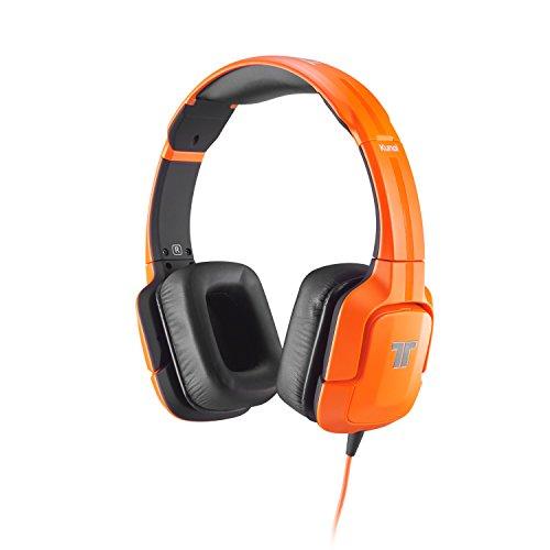 Tritton Kunai - Auriculares de diadema cerrados (con micrófono), naranja