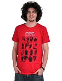 "The Walking Dead - Faces T-Shirt (S - (37"" Chest))"