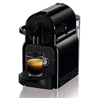 DeLonghi Nespresso Inissia EN 80.B   Hochdruckpumpe   Energiesparfunktion   kompaktes Design   Schwarz