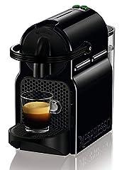 Idea Regalo - DeLonghi, Nespresso Inissia EN80.B, Macchina per Caffè Espresso, Nero