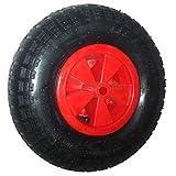 Sweepid Roue de brouette universelle avec roues de rechange pour pneus de 4,2 à 6 Ø 325 brouette