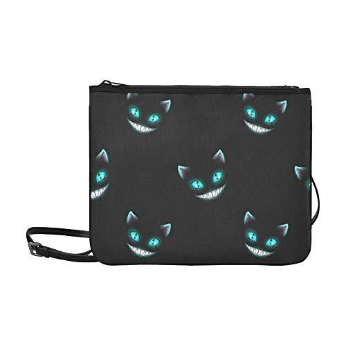 Katzengesichter auf kundenspezifischer hochwertiger dünner Nylon-Clutch-Tasche Umhängetasche ()