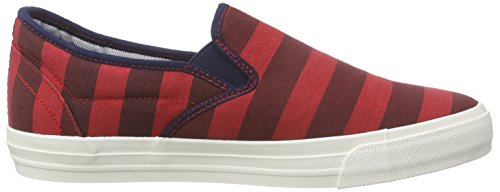 s.Oliver 14605, Mocassins homme Rouge - Rot (DARK RED COMB 590)