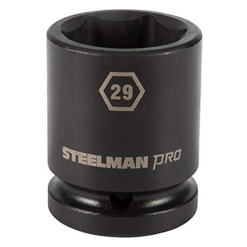 STEELMAN PRO 79275 3/4-Inch Drive x 29mm 6-Point Impact Socket -