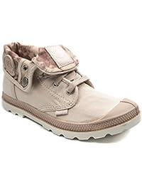 BOOWJESSEA - Zapatillas de Otra Piel para niña, color dorado, talla 41 EU