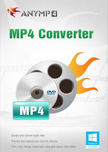 AnyMP4 MP4 Converter 1 Year License - DVD und Video in MP4 konvertieren [Download] -