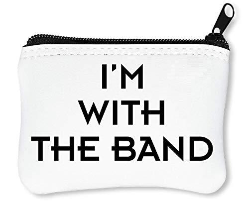 I'm The Band Funny Artist Slogan Reißverschluss-Geldbörse Brieftasche Geldbörse -