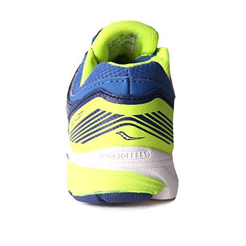 Saucony Boys Zealot chaussure de running bleu-jaune
