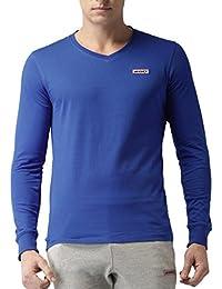 2GO Casual V-Neck Full Sleeves Cotton T-Shirt
