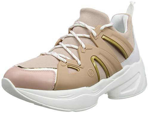 Liu Jo Shoes Jog 07-Sock Sneaker Peach, Sneakers Basses Femme, Orange 31406, 37 EU