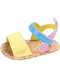 Huhua Sandals For Boys, Sandali Bambine Rosso rosso 38-38.5 EU, Bianco (White), 36 2/3 EU