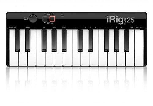 IK-Multimedia iRig - Mini Pianoforte digitale a 25 tasti