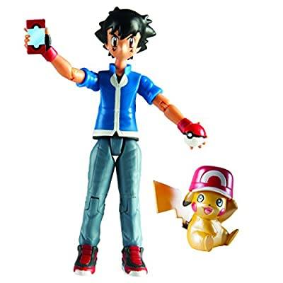 Pokemon Pikachu and Ash Figure Set: Pokemon 20th Anniversary San Diego Comic Con Exclusive Set by Pokemon Center de Tomy