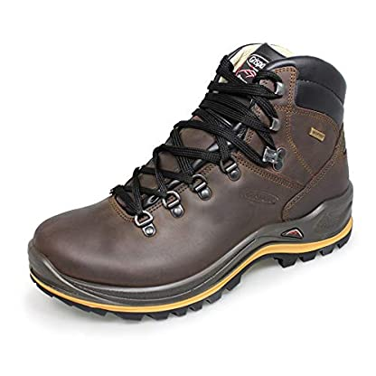 Grisport Mens Aztec Wide Fit Brown Walking Boot 1
