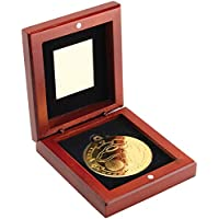 silver und bronzefarben mit Band Medaille Metall 50mm incl Emblem gold- Pokale & Preise