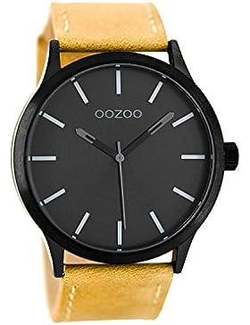Oozoo Damenuhr Beige / Schwarz C8526