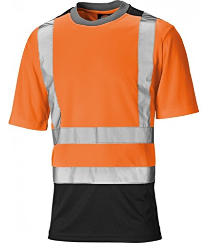 Preisvergleich Produktbild Dickies Two Toned HV T-Shirt, M, orange, SA22081