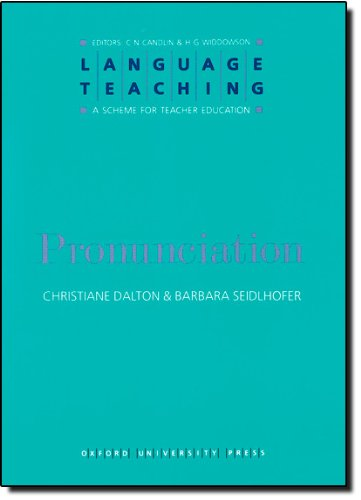 Language Teaching. a Scheme for Teacher Education: Pronunciation
