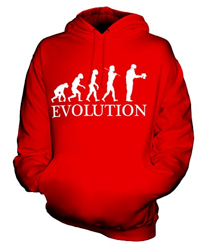 candymix-airbrush-evolution-of-man-unisex-hoodie-mens-ladies-hooded-sweater-size-medium-colour-red