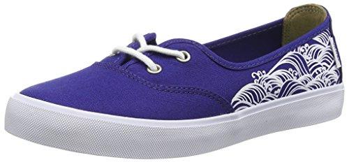 Vans Solana Sf - Scarpe da Ginnastica Basse Donna, Blu (aloha Summer/skyway), 34.5 EU Blu (indigo Wave/blueprint)