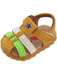 Bébé Garçons Filles Sandales d'ét rose 2rose 2 é Loisirs Mode PU Tassel Chaussures