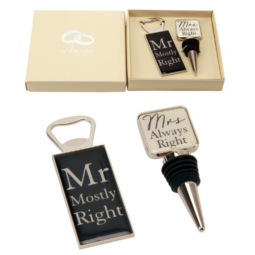 Mr Mostly Right and Mrs Always Right Gift Box Set