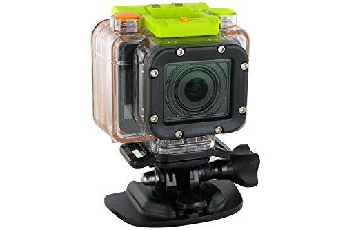 HP ac300w Aktion Kamera mit wasserdichtem Gehäuse und Fernbedienung