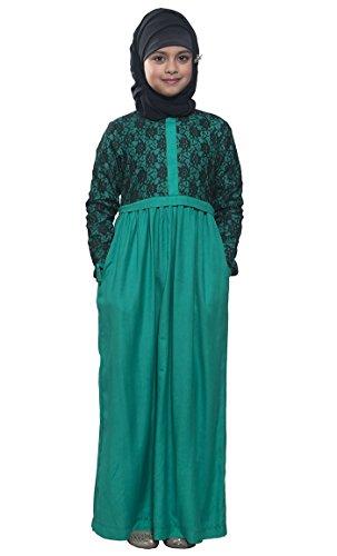 East Essence - Robe - Manches Longues - Femme Orange - Rouille
